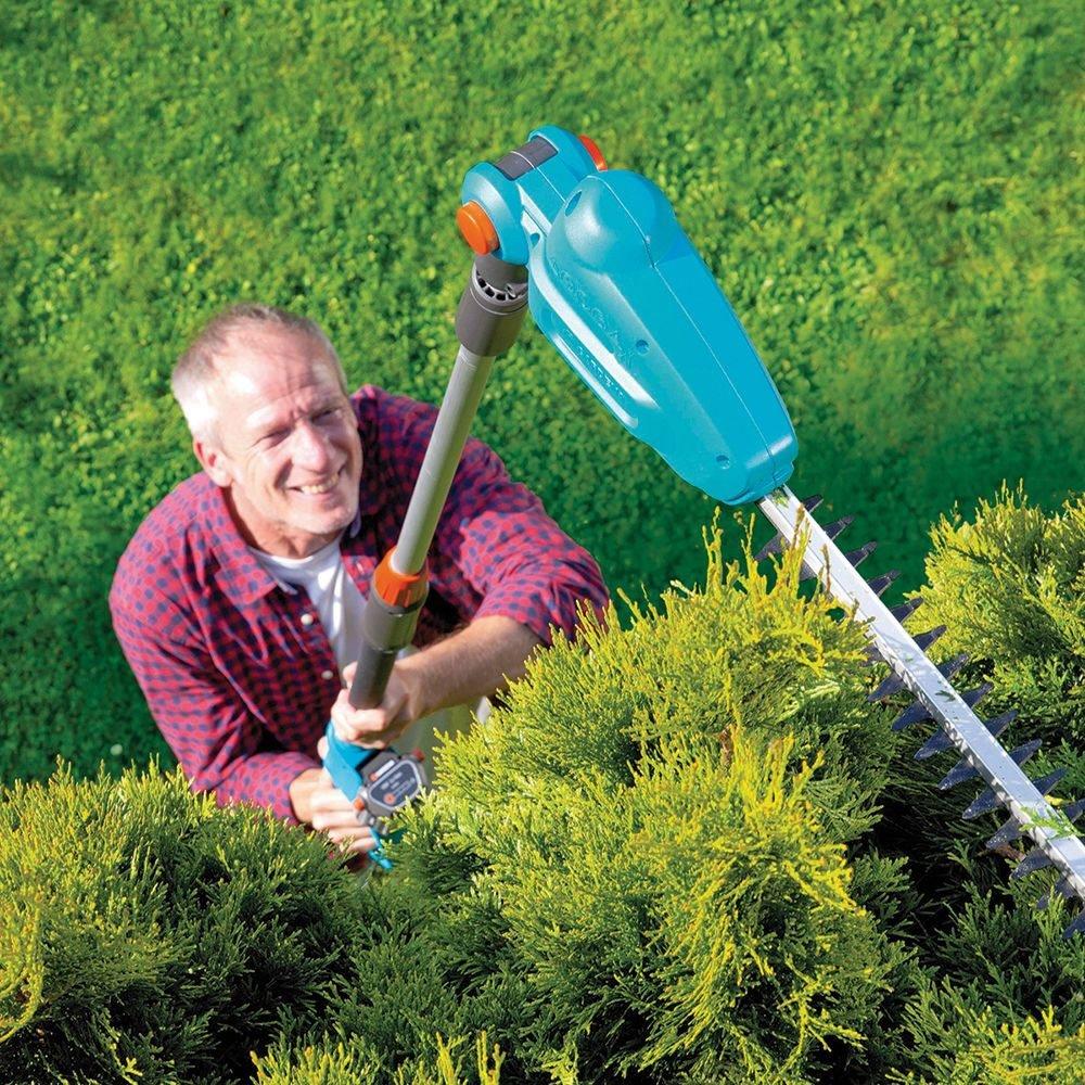 Высоторез садовый электрический телескопический